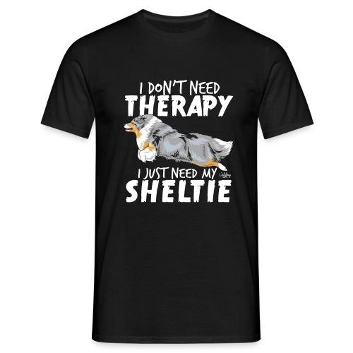 Sheltie Therapy I - Miesten t-paita