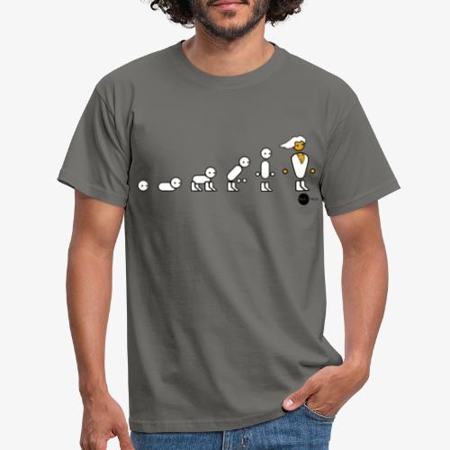 Evolution simple - Men's T-Shirt