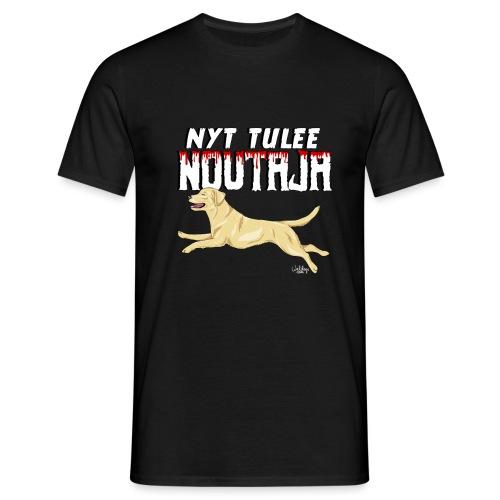 Labbis Noutaja Tulee - Miesten t-paita