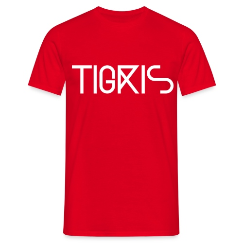 Tigris Vector Text White - Men's T-Shirt