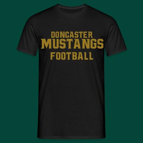 doncaster only new font gold - Men's T-Shirt