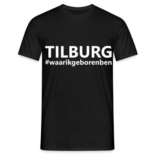 #waarikgeborenben - Mannen T-shirt