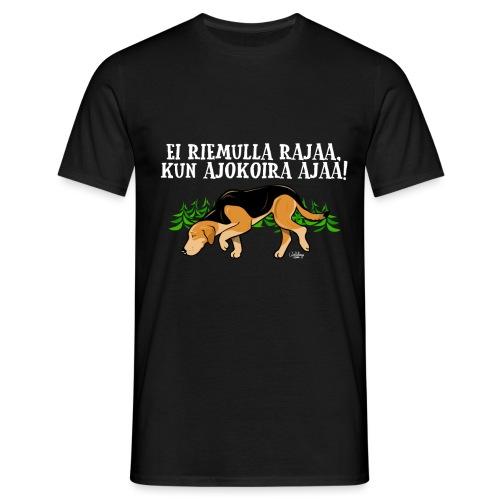Venäjänajokoira Riemu II - Miesten t-paita