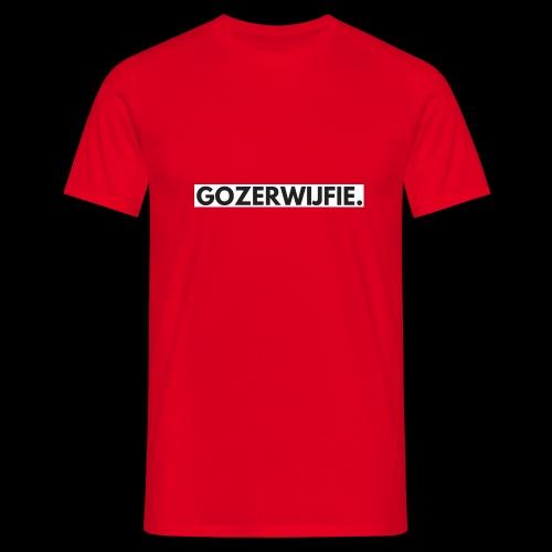 GOZERWIJFIES - Mannen T-shirt