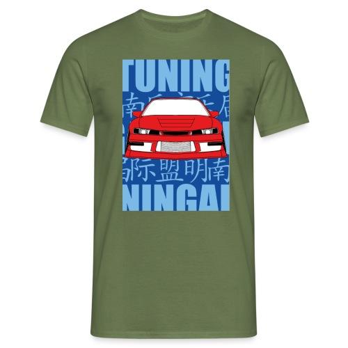 Typo png - Männer T-Shirt