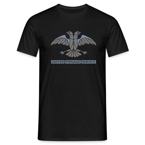 UPS Emblem v3 2 2c - Männer T-Shirt
