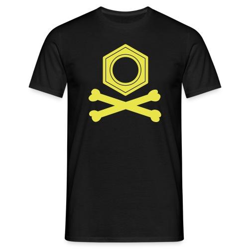 yellowibis benzenepirate vec - Men's T-Shirt