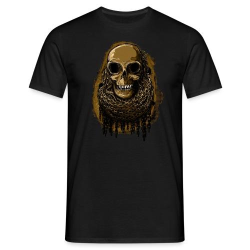 Skull in Chains YeOllo - Men's T-Shirt