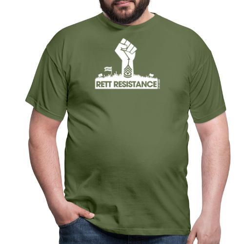 Rett Resistance - Army of Us - Men's T-Shirt