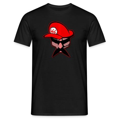 Brutal Mario Logo Brutale Ufficiale - Maglietta da uomo