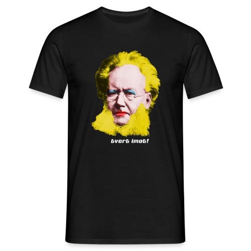 tvertimot - T-skjorte for menn