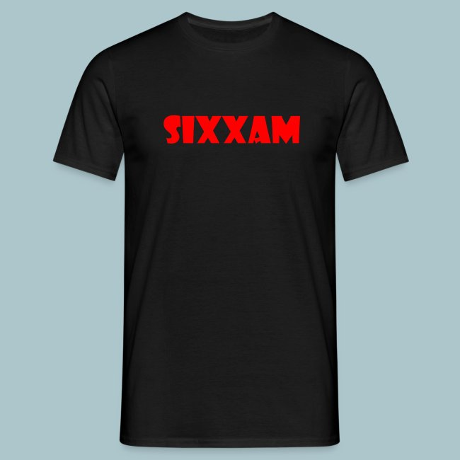sixxam logo rood