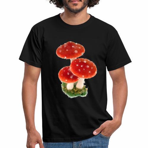 Fliegenpilz - Männer T-Shirt
