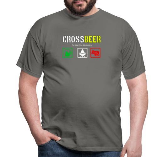 crossbeer - Maglietta da uomo
