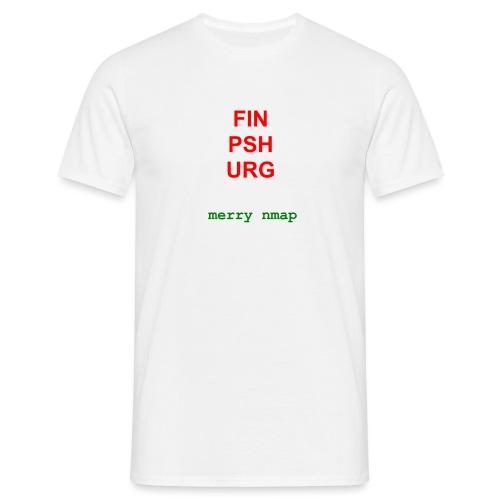 Merry nmap - Men's T-Shirt