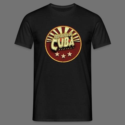 Republica De Cuba Libre (oldstyle) - Männer T-Shirt