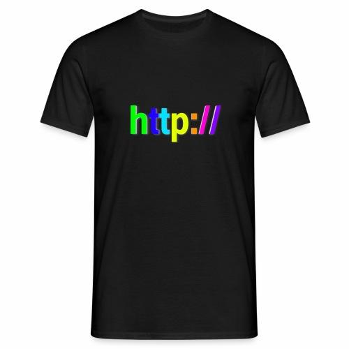 T-SHIRT Potocollo HTTP - Maglietta da uomo