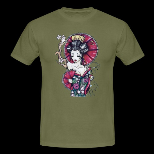 Geisha2 - Maglietta da uomo