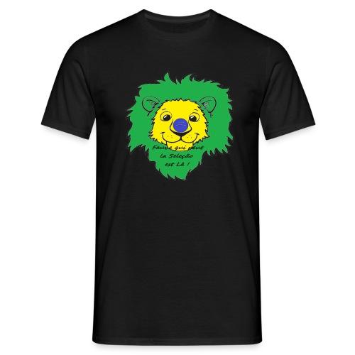 Lion supporter Brésil - T-shirt Homme