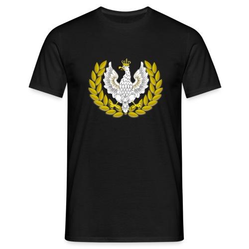Koszulka patriotyczna Orzeł II RP Wieniec - Koszulka męska