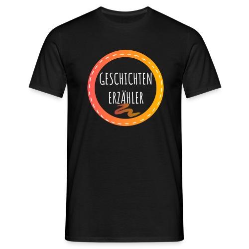 GESCHICHTENERZAEHLER white 1 - Männer T-Shirt