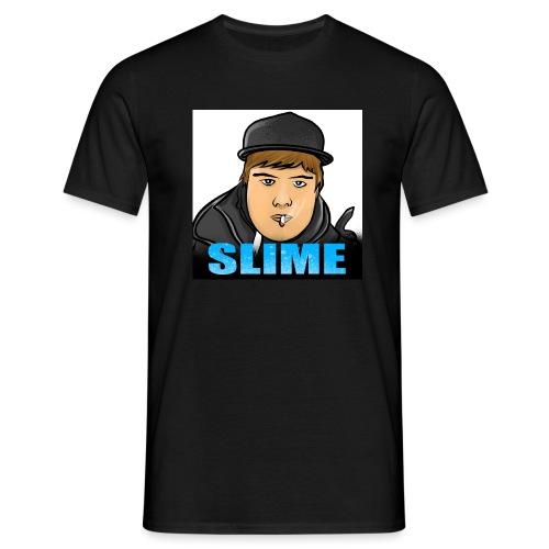 Egen SlimePlays Klær - T-skjorte for menn