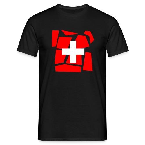 Schweizer Design Shirt - Männer T-Shirt
