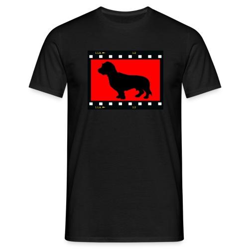 Foto Ruwhaar Teckel - Mannen T-shirt