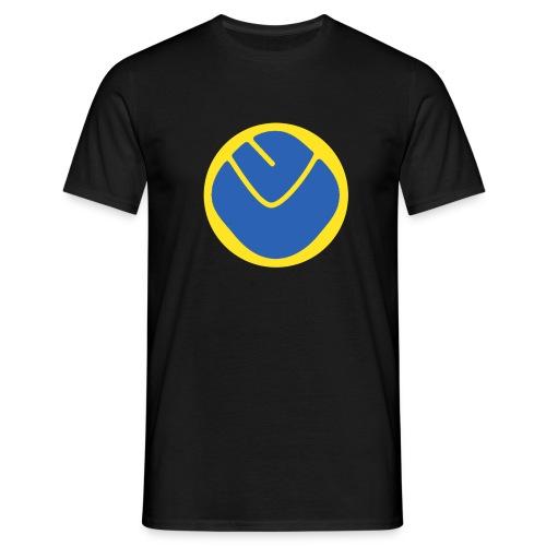 smiley invesrse - Men's T-Shirt