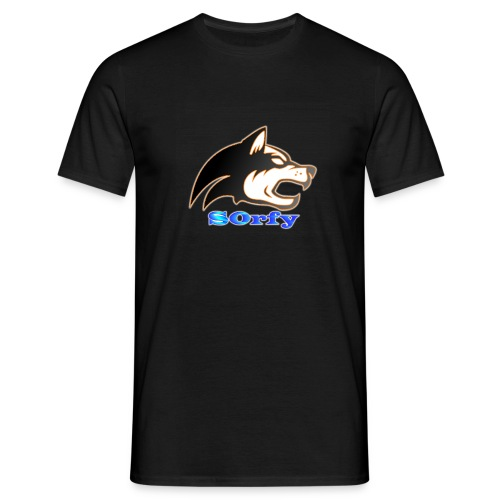 s0rfyplays logo banner - Men's T-Shirt