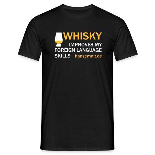 foreign language - Männer T-Shirt