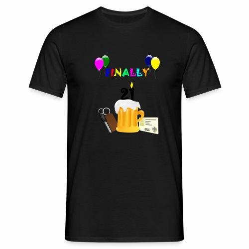 Finally 21 (2) - Men's T-Shirt