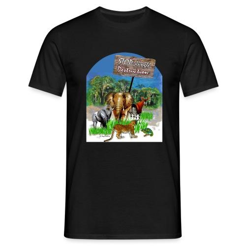 STOP - Jungle Destruction - Männer T-Shirt