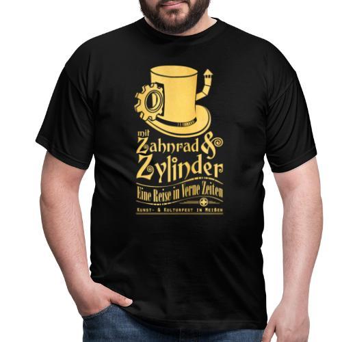 ZuZ 2017 + Brust- & Rückenmotiv - Männer T-Shirt