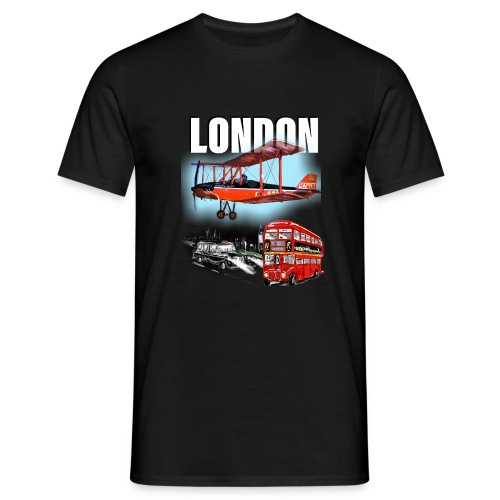 London by day and night! - Men's T-Shirt