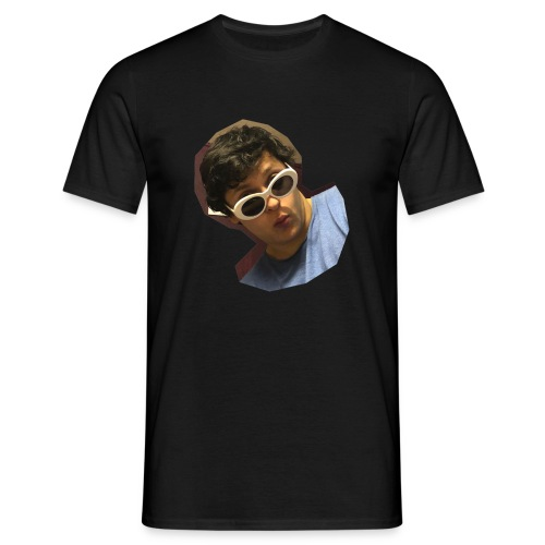 Handsome Person on Clothing - Männer T-Shirt