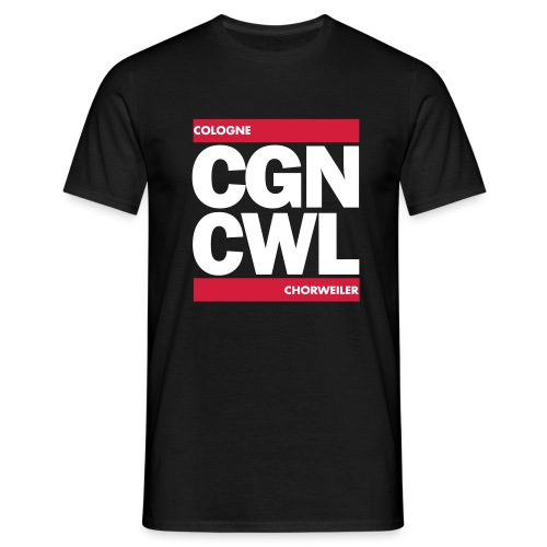 CGN_CWL_RUN - Männer T-Shirt