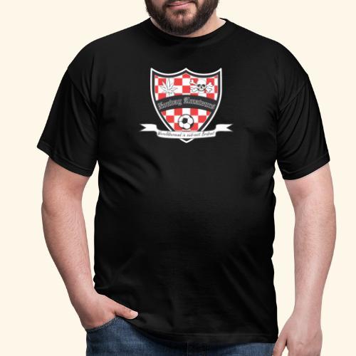 ZondagAmaTeurs logo klein - Mannen T-shirt