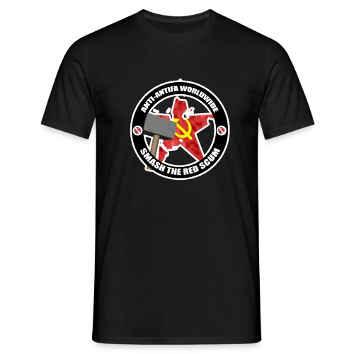 ANTIANTIFA LOGO png - Men's T-Shirt