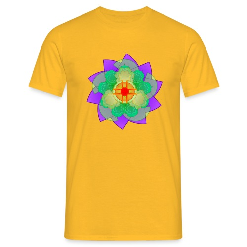 mandala 2 - Men's T-Shirt