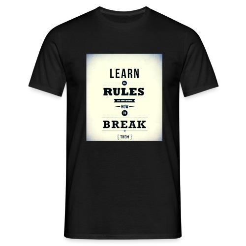 RULES - Mannen T-shirt