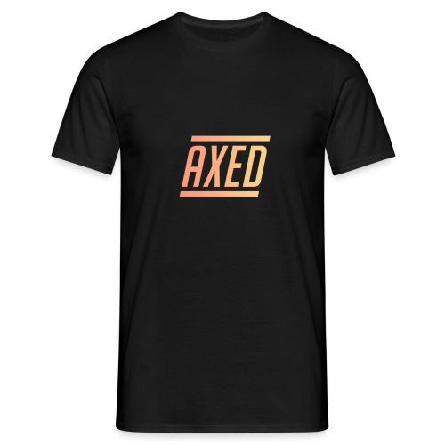 Original Axed Logo Design - Men's T-Shirt