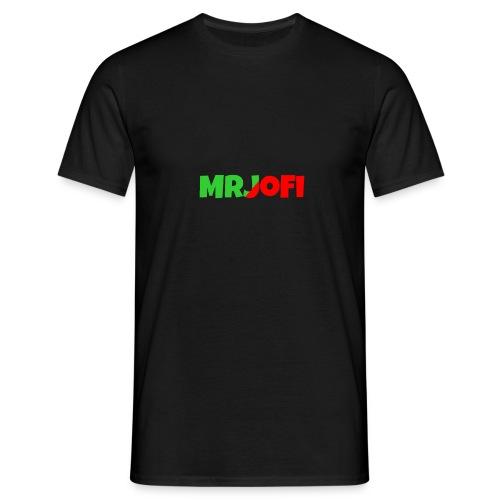 T-Shirt Text Voorkant - Mannen T-shirt