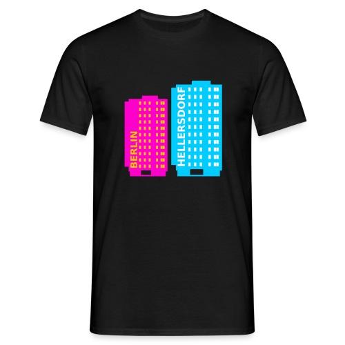 Hellersdorfer Twin Towers - Männer T-Shirt