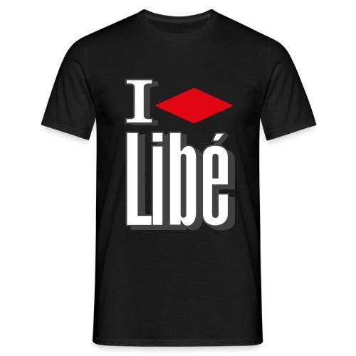 ilovelibe noir - T-shirt Homme