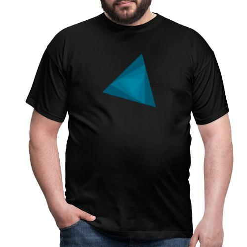 Equilateral spiral - T-shirt herr