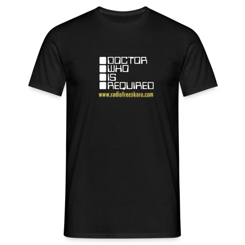 dwisrequiredwhite - Men's T-Shirt
