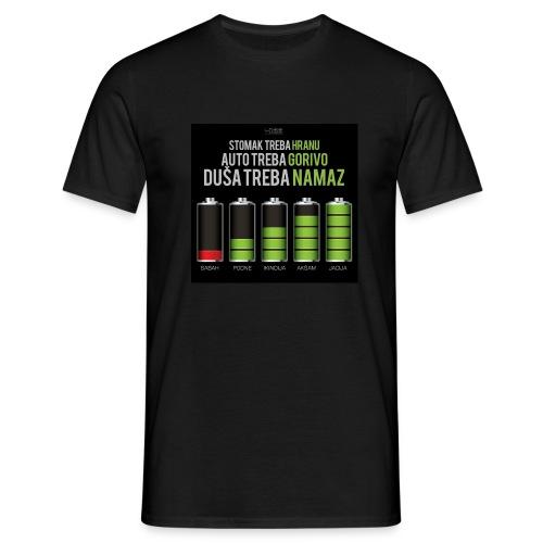 dusa treba namaz / es-selamu alejkum - Männer T-Shirt