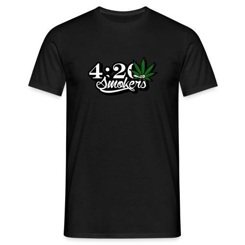 420 smoker - Men's T-Shirt