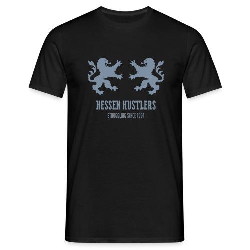 Hessen Hustlers Double Lion - Männer T-Shirt